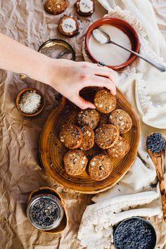 Lavender Cashew Shortbread Cookies (Grain Free, Vegan)   recipe via will frolic for food