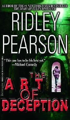 The Art of Deception by Ridley Pearson 2002 Hardcover Book Novel w/Dust Jacket
