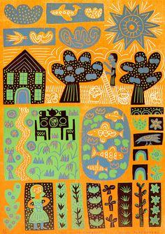 Two in the Garden by Hilke MacIntyre