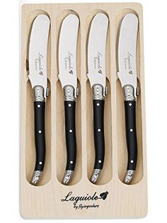 FlyingColors Laguiole Butter Knives / Spreaders Set, Stai... https://www.amazon.com/dp/B00JNRNBRA/ref=cm_sw_r_pi_dp_x_A9qnybZ9K5SYA