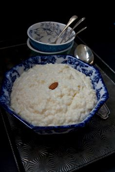 On Christmas Eve households in Sweden would traditionally serve a bowl of Risgrynsgröt | Julegrot or Swedish Rice Pudding