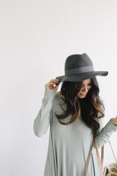 Description: The panama-like style of this classic women's fedora makes the Harvey a very popular option for all types of women. This hat has a floppy brim but keeps it's shape well and is made from 1 Popular Hats, Bohemian Lifestyle, Types Of Women, Cool Hats, Grosgrain, Panama Hat, Product Description, My Style, Shape