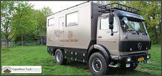 Mercedes Benz 1222AF Expedition Truck