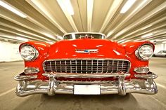 Chevrolet Bel Air 1955 - for some reason I keep pinning 55's ?