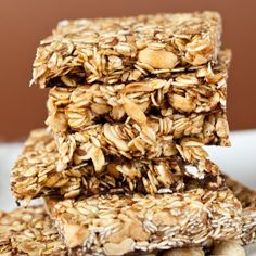 salty peanut granola bars