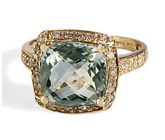 her favorite -----  The Frugal Fashion Guide: Who Needs a Diamond? Non-Traditional Engagement Rings