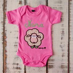Body manga corta ovejita con tu nombre - Marketplace social de tiendas para niños de 0 a 14 años