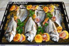 Fırında Çupra Tarifi – Atıştırmalıklar – The Most Practical and Easy Recipes Shellfish Recipes, Seafood Recipes, Cooking Recipes, Fish Dishes, Seafood Dishes, Turkish Recipes, Ethnic Recipes, Cheesy Chicken Enchiladas, Fried Catfish