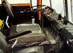 DAF 2600 cabine binnen