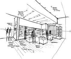 exhibition museum sketch - Buscar con Google