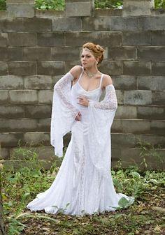 Isabella Beach or Medieval Wedding Gown