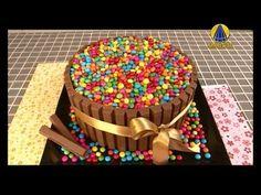 Tudo Artesanal | Bolo Barras de Chocolate por Janaina Suconic - 27 de Ag...