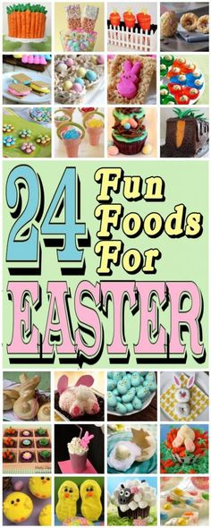diy home sweet home: 24 Fun Foods For Easter Sprague - Independent Scentsy Family Director ALL OF THEM! Hoppy Easter, Easter Eggs, Easter Food, Easter Bunny, Easter Cookies, Easter Treats, Holiday Treats, Holiday Recipes, Easter Celebration
