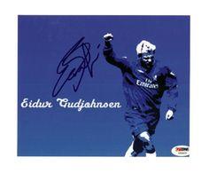 Eidur Gudjohnsen Autographed 8x10 Photo Chelsea PSA/DNA #U54429