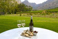 Kaasplankje bij Oldenburg Vineyards in Stellenbosch