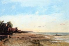 The Athenaeum - The Villa of Madame de Morny at Deauville (Gustave Courbet - )