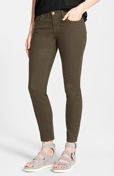dccd0910c9 Eileen Fisher Skinny Ankle Jeans (Surplus)