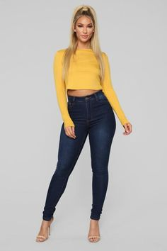 Tops for Women - Shop Affordable Tops in Every Style – 9 Girls Fashion Clothes, Girl Fashion, Clothes For Women, Womens Fashion, Sexy Outfits, Cute Outfits, Fashion Outfits, Sexy Jeans, Skinny Jeans