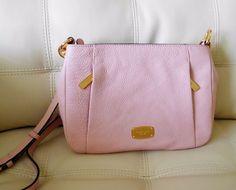 New Michael Kors Hallie Medium Leather Messenger Blossom Pink #MichaelKors #MessengerCrossBody