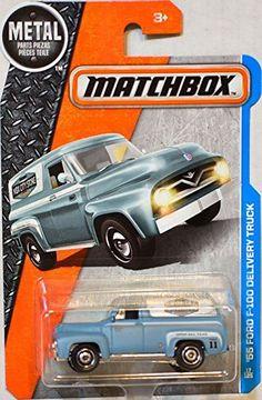 2016 Matchbox '55 Ford F-100 MBX City Store Delivery Truck NIP NIB 17/125