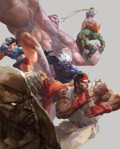 Great Tips On Finding Help If You're Going Through Chemo Ken Street Fighter, Akuma Street Fighter, Street Fighter Characters, Super Street Fighter, Cartoon Sketches, Cartoon Styles, Art Of Fighting, Fighting Games, Robot Painting