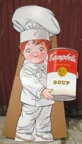 Cambell's Soup Kid  I loved having tomato soup for lunch when I was a child!