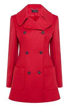 Karen Millen - Classic reefer coat