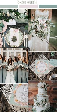 6 Beautiful Greenery Wedding Color Combos in Green Shades for 2019 The biggest wedding color trends . 6 Beautiful Greenery Wedding Color Combos in Green Shades for 2019 The biggest wedding color trends . Blush Wedding Colors, Spring Wedding Colors, Blush Color, Wedding Colora, Wedding Color Combinations, Wedding Color Schemes, Color Combos, Wedding Bouquets, Wedding Flowers