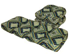 """16/"""" New Chic Cotswold Jewel green navy fabric cushion cover"""