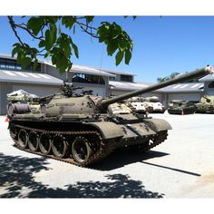 Soviet T-54 tank at the Military Vehicle Technology Foundation.  www.toadmanstankpictures.com