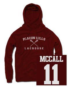McCall Beacon Hills Lacrosse Hoodie