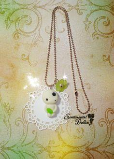 Princess Mononoke Jewelry Studio Ghibli by SentimentalDollieZ, $16.00