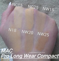 Pro Longwear Foundation by MAC #21