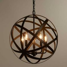 Restoration hardware chandelier get the junk store guy to make a cost plus world market aloadofball Choice Image