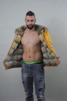 Women's neiman marcus sheared beaver & crystal fox fur coat | Fox ...