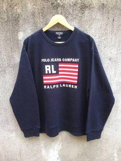 Polo Ralph Lauren Sweatshirt Polo Jeans Company Ralph Lauren Size m - Sweatshirts & Hoodies for Sale - Grailed