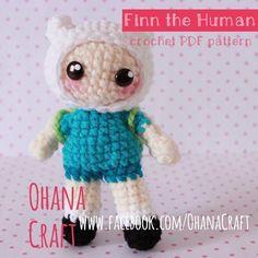 Finn the Human Crochet pattern https://www.facebook.com/OhanaCraft