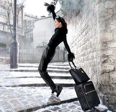 Stylish traveller - Longchamp Fall 2012 Campaign