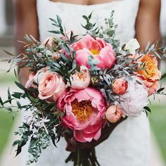 We are swooning over this bouquet