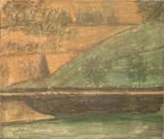 Giorgio Morandi: Paesaggio, 1932, olio su tela. Firenze,