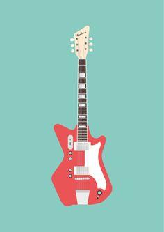 AIRLINE / Jack White's Guitar on Behance