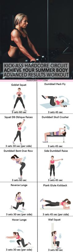 #womensworkout #workout #femalefitness Share and repin if this workout helped you achieve your summer body. Click the pin for the full workout.