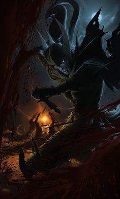 DOTA2 - Mortred the Phantom Assassin by Geoffrey-E.deviantart.com on @deviantART