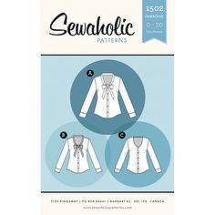 Sewaholic - Oakridge Blouse pattern from M is for make
