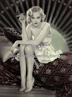 Sheila Terry 1930s (coloured by Vintage Venus)   http://www.vintagevenus.com.au/vintage/reprints/postcards/info/PCW370.htm