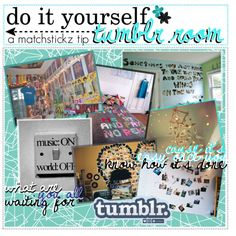 DiY tumblr room.