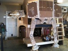 Three-Level Imperial Walker Bunk Bed.