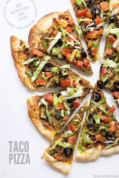 Taco Pizza by Real Food by Dad