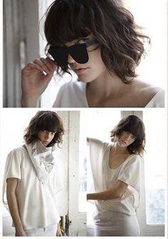 Twenty Short Haircuts For Wavy Hair 2013 – 2014 Gonderlicek - http://www.heygirl.net/women-hairstyles/twenty-short-haircuts-for-wavy-hair-2013-2014-gonderlicek/