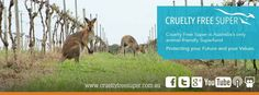 We're delighted to welcome Cruelty Free Super, Australia's only animal-friendly superfund as Bronze sponsors to Cruelty Free festival 2015!  Unlike other super funds, CFS will never invest your money in animal testing, factory farming or live exports etc. To find out more, come and speak with them on Sunday 25 October.